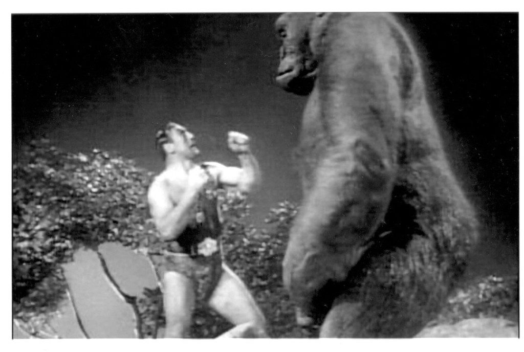 Primo Carnera battles Mighty Joe Young in 1949 film.