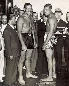 Primo Carnera and Joe Louis
