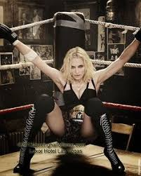 Madonna on the ropes.
