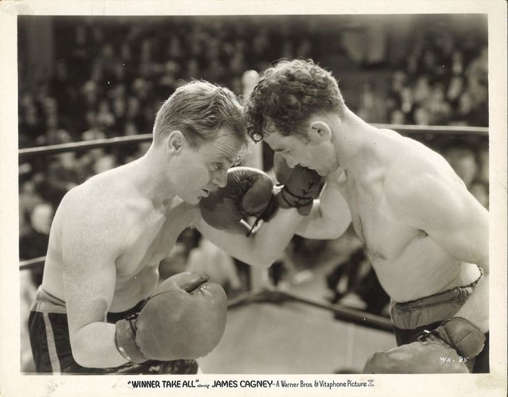James Cagney Boxing Scene in Winner Take All.