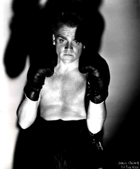 James Cagney Boxing Shadows.