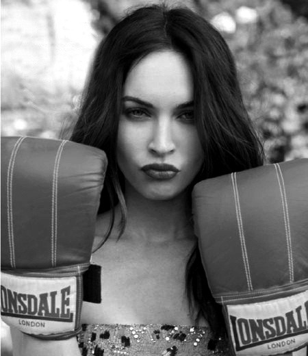 Megan Fox Boxing.
