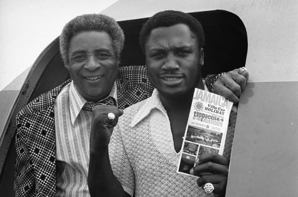 Yank Durham and Joe Frazier