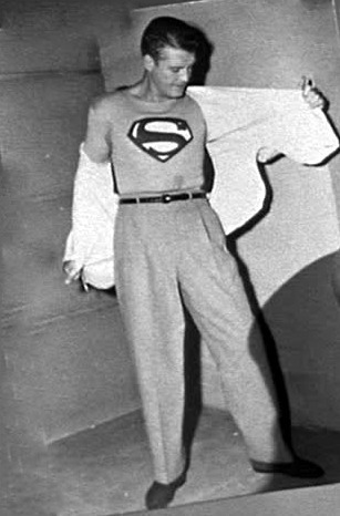 "Former boxer George ""Superman"" Reeves"