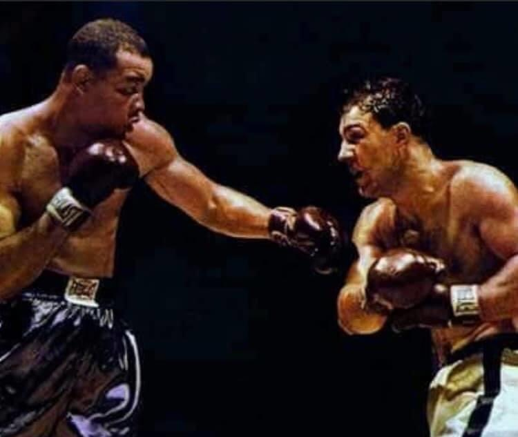 Joe Louis vs. Rocky Marciano