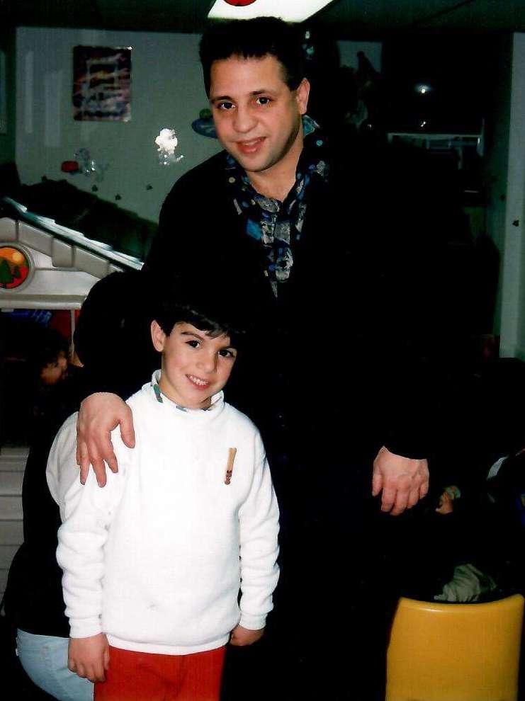Hall of Famer Gerard Rinaldi with Joseph Rinaldi.