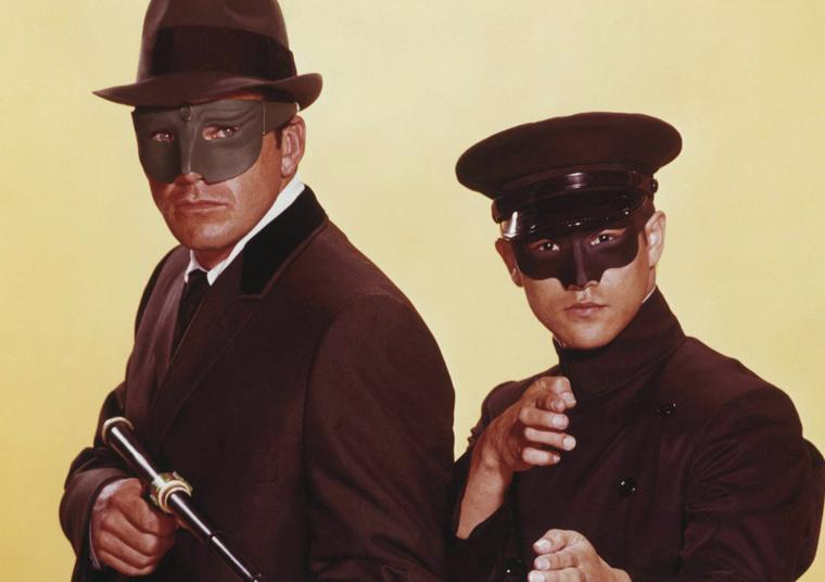 GreeN Hornet and Kato. (CLICK PHOTO TO VIEW ANOTHER SCENE FROM THE ICONIC TV SHOW)