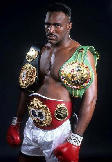 "Undisputed Champion Evander ""The Real Deal"" Holyfield."