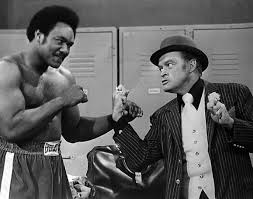 George Foreman with Bob Hope