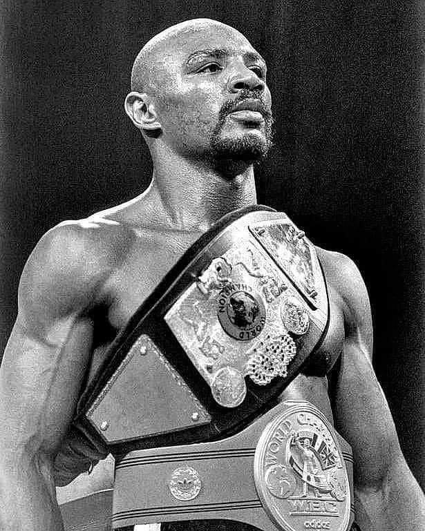 Middleweight King Marvelous Marvin Hagler