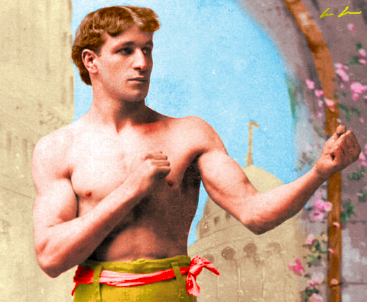 Joe Choyski made his debut in November 1888 with a points win over George Bush. He went on to have a successful career and despite beating a number of highly rated opponents he never got a shot at the world title. His record was 57-14-6 with 39 knockouts.
