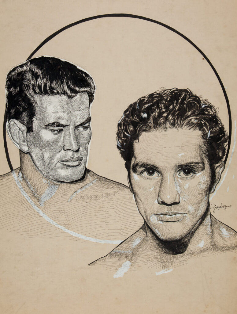 Gene Tunney and Billy Conn