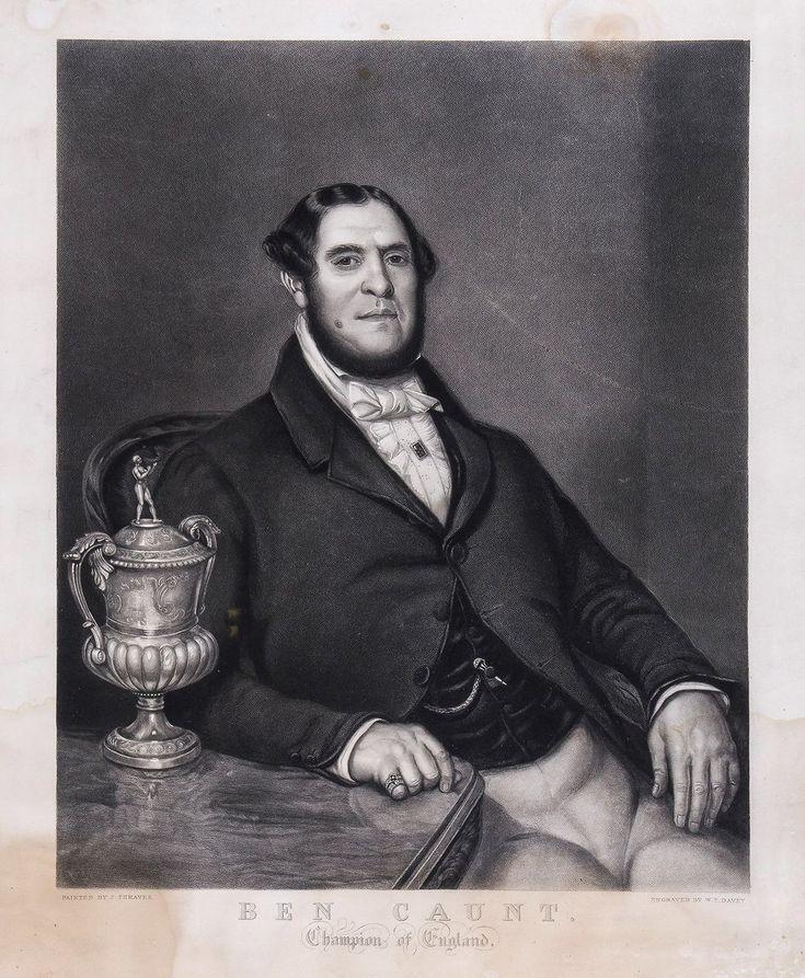 Ben Caunt Champion of England 1841.