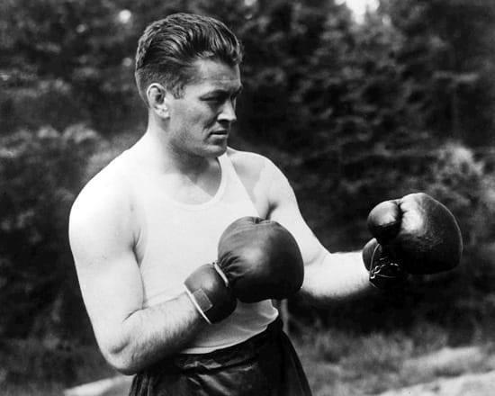 Heavyweight Champion Gene Tunney in the 1920's.