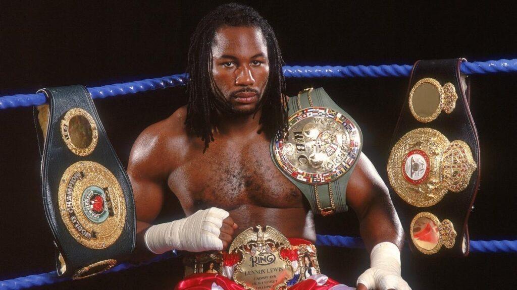 Undisputed Heavyweight Champion Lennox Lewis